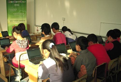Class Demonstration from Wende teacher