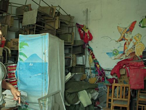 Wende School Computer Room - Before decoration