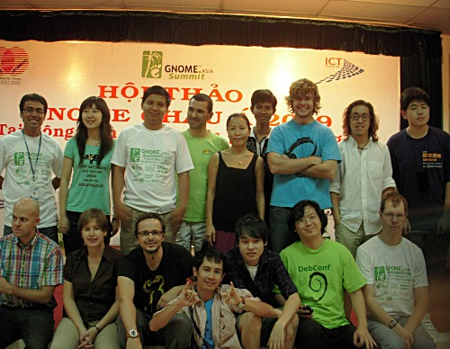 GNOME.Asia Summit 2009 Speakers from all over the world