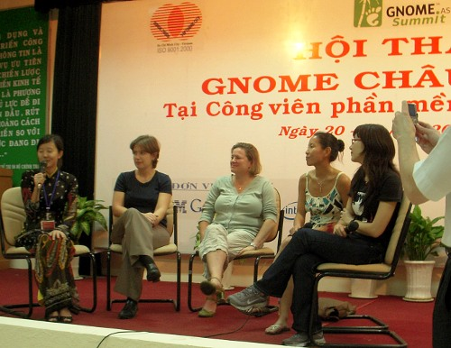 GNOME.Asia Summit 2009 Panel Discussion: Women Participation in GNOME