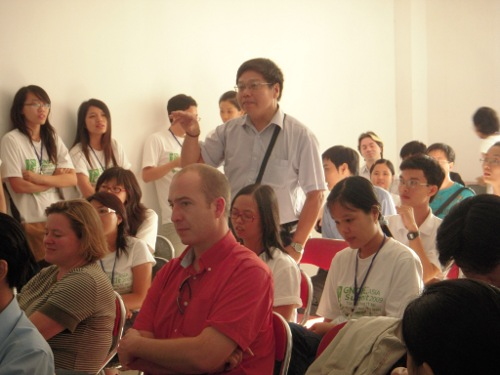 A lot of interaction with audiences