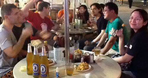 We finished the event with beer and local food in Tsim Tsha Tsui East and heading home at 2am with big smile on our face.