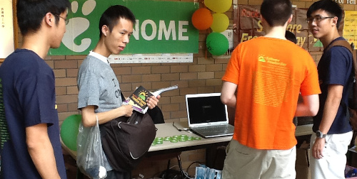 Fedora 20 with GNOME 3.1 was demonstrated in our SFD HK 2013 event.